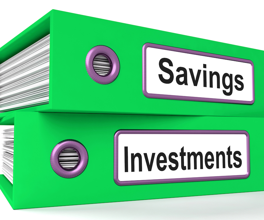 three buckets for savings & investments