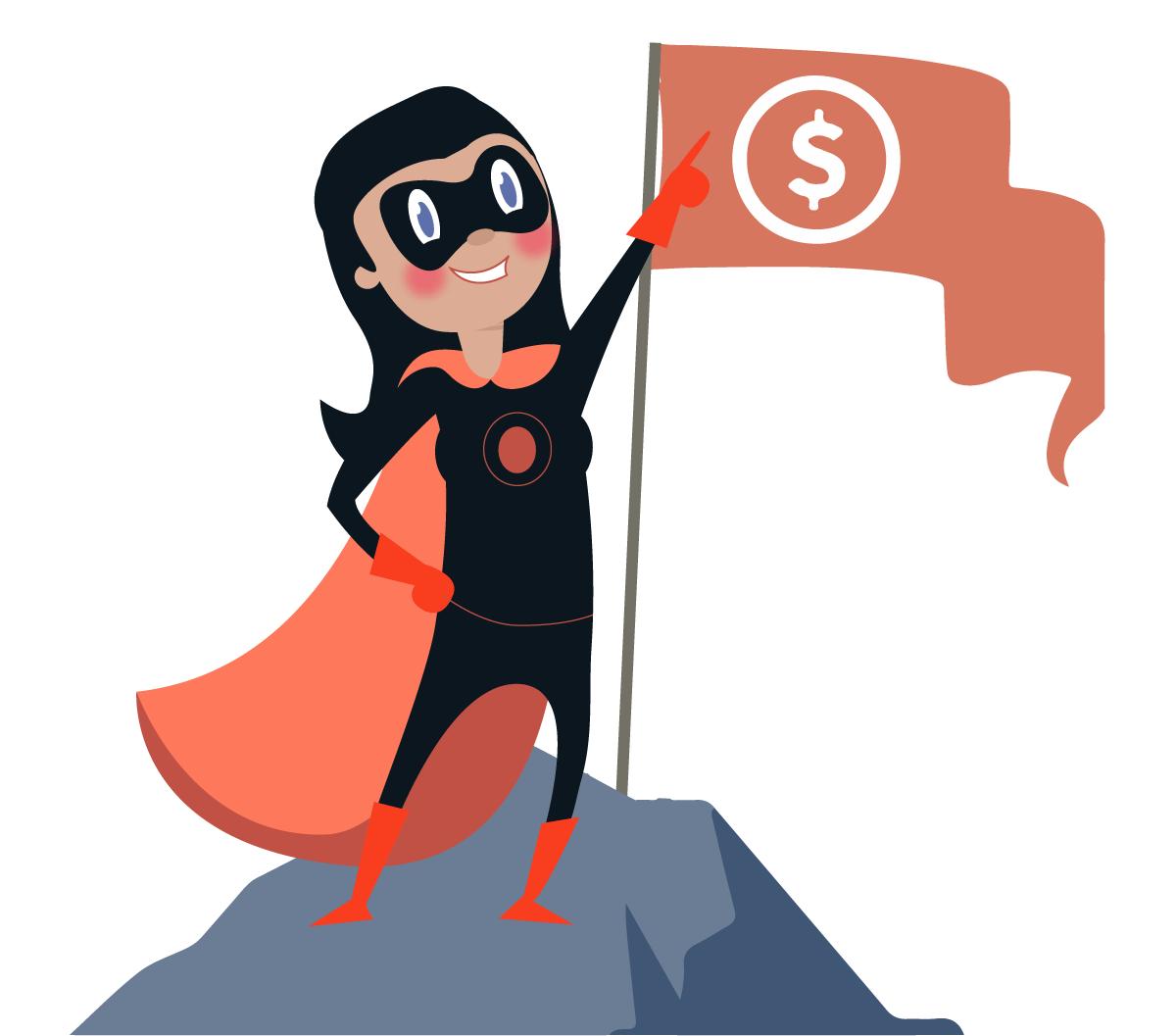 Financial Planning superhero